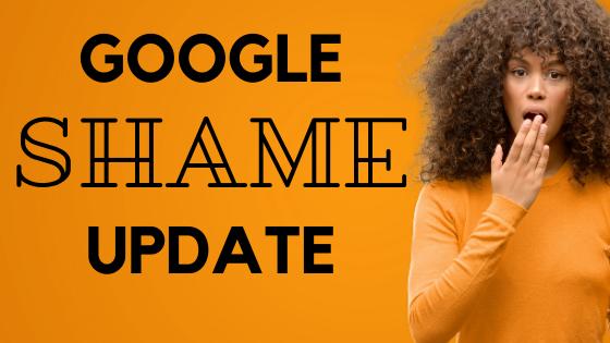 Google Shame Update